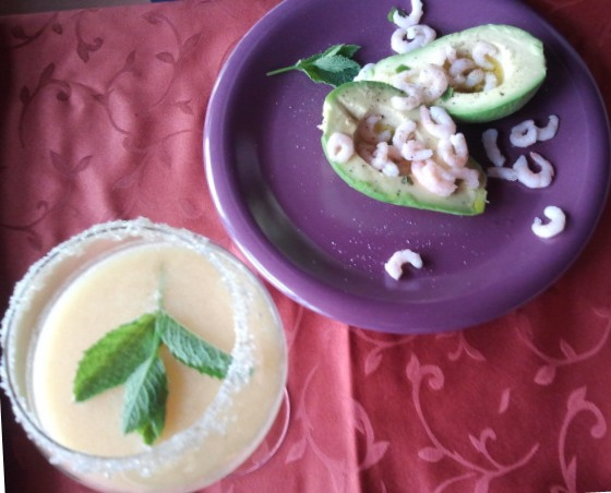 Avocado e Gamberetti